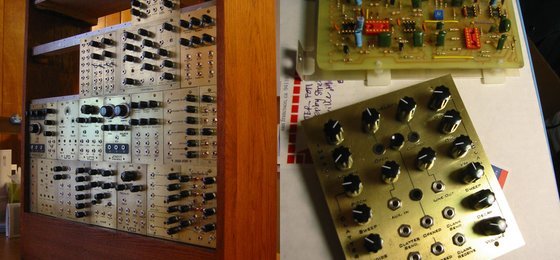 Peter Winterhill's modular synth