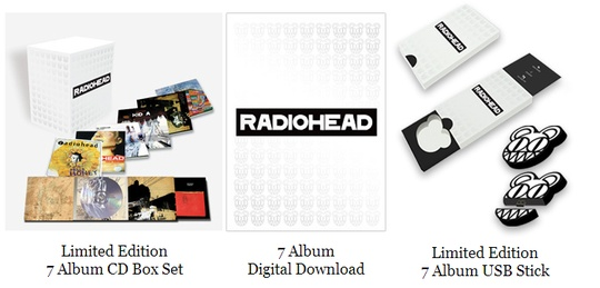 Radiohead Limited Edition Box Set Collection