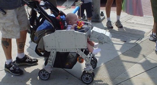 AT-AT Imperial Walker stroller mod