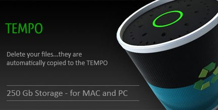 TEMPO - Wireless recycle bin