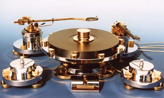 Transrotor turntable
