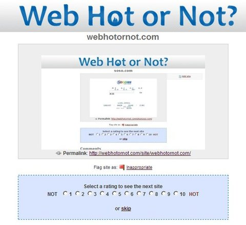 Web Hot or Not
