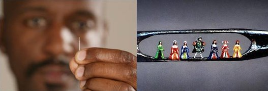 Six wives of Henry VIII by Willard Wigan