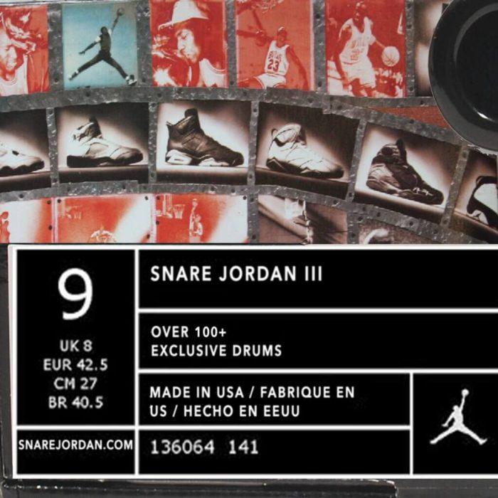 Jake One Snare Jordan 3