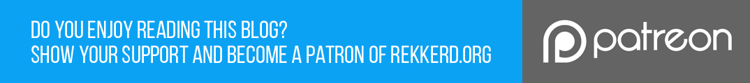 Support rekkerd.org at Patreon
