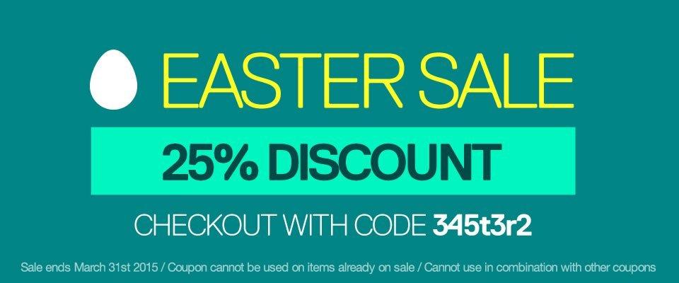 ADSR Easter Sale