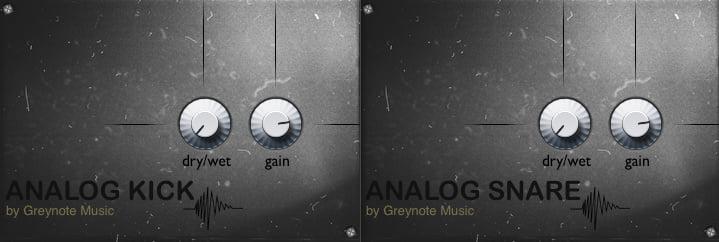 Greynote Music Analog Kick and Snare