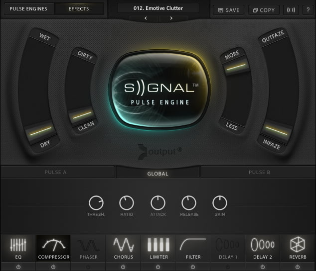 output signal effects