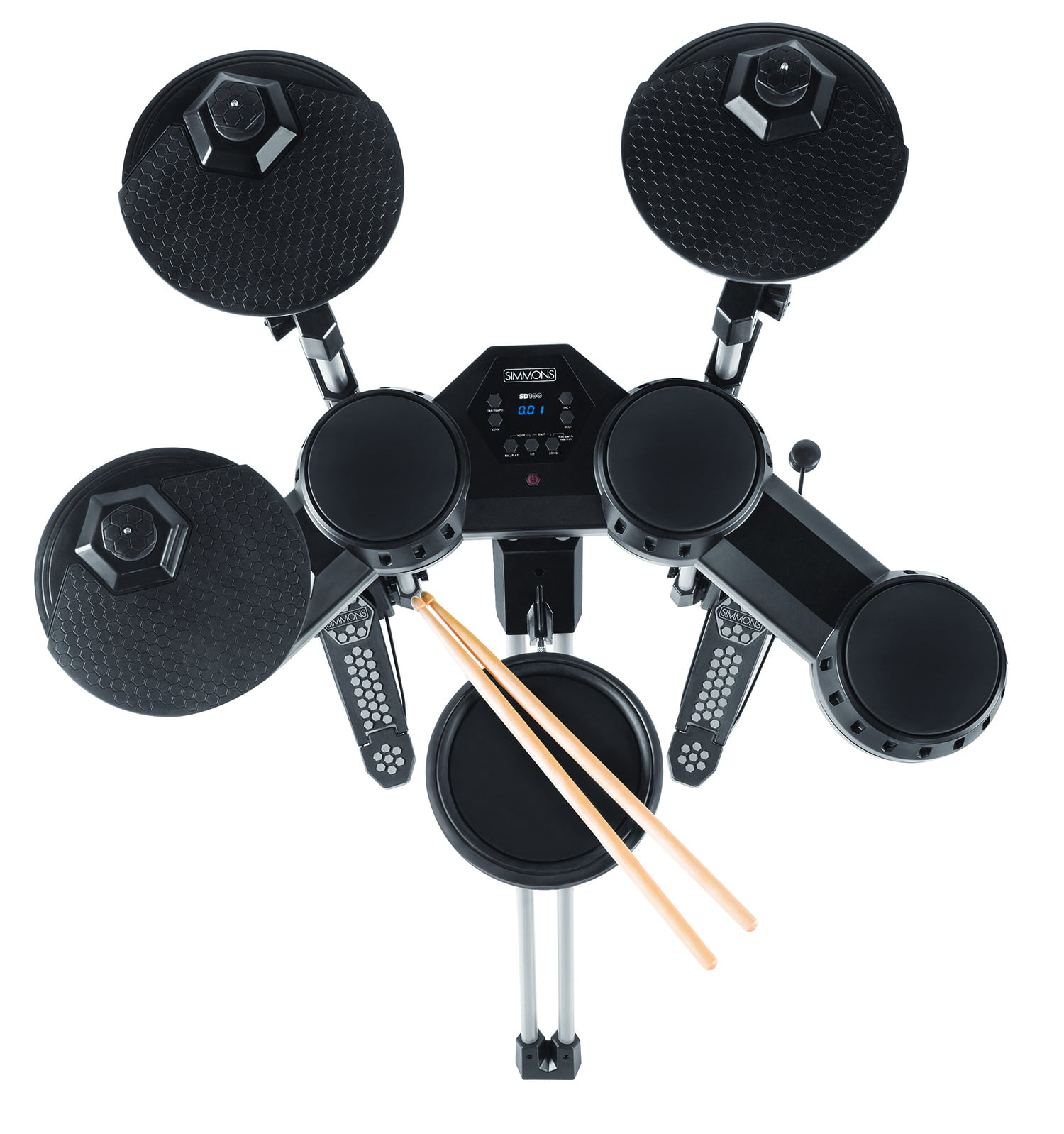 simmons sd100kit electronic drum kit released. Black Bedroom Furniture Sets. Home Design Ideas