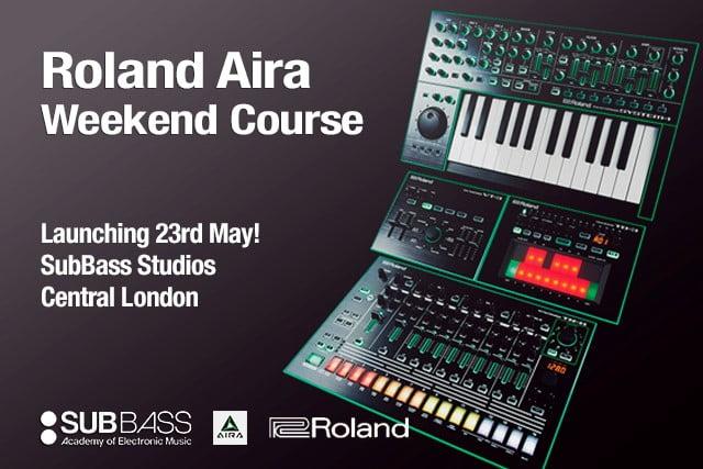subbass roland aira weekend course