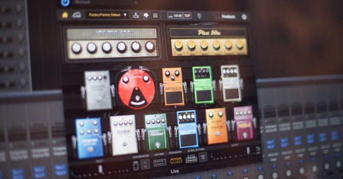 BIAS FX pedalboard