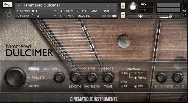 Cinematique Instruments Hammered Dulcimer