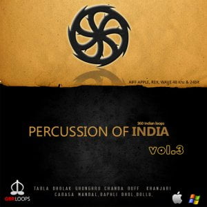 GBR Loops Percussion of India Vol 3