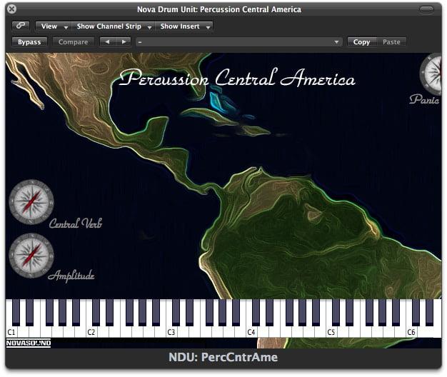 Nova Sound Percussion Central America
