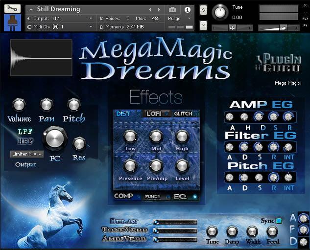 PlugInGuru MegaMagic Dreams for Kontakt