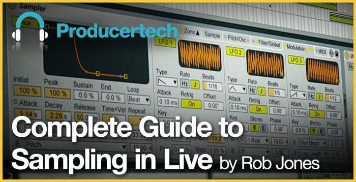 ProducerTech Sampling in Live