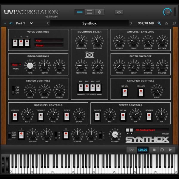 UVI Synthox