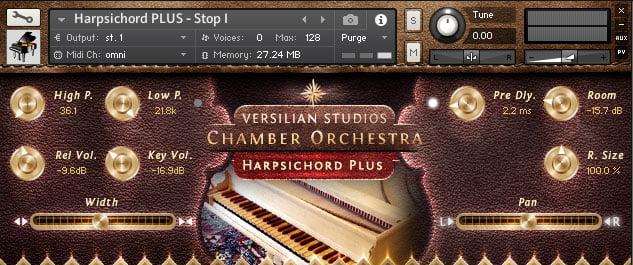 Versilian Studios VS Harpsichord