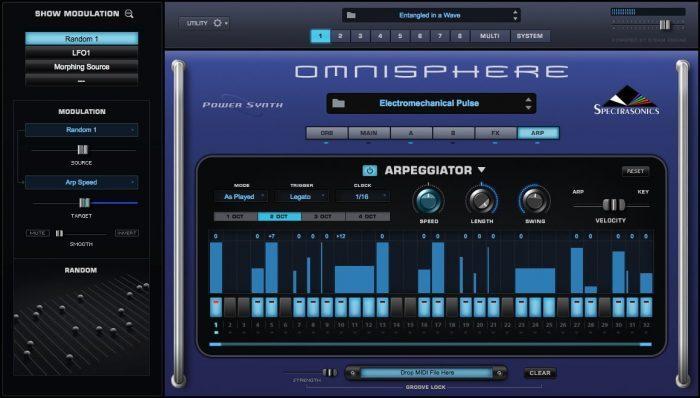 spectrasonics Omnisphere 2 arp