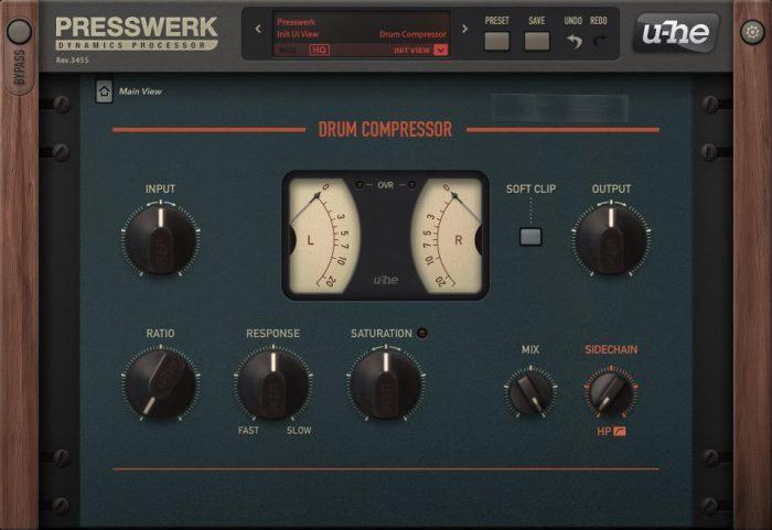 u-he Presswerk Drum Compressor