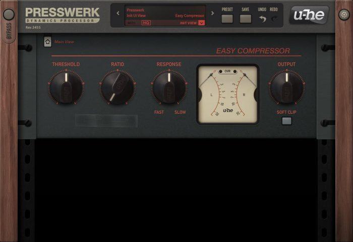 u-he Presswerk Easy Compressor