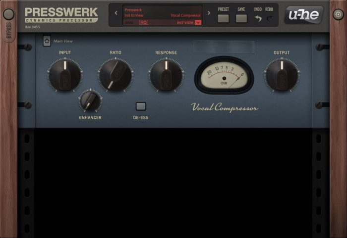 u-he Presswerk Vocal Compressor
