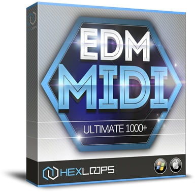 Hex Loops EDM MIDI 1000