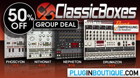 Plugin Boutique Classic Boxes Group Buy