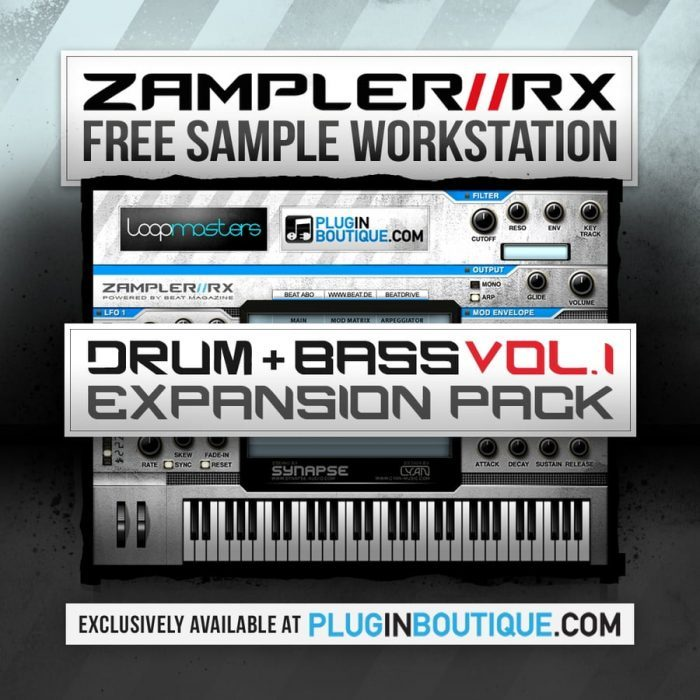 Plugin Boutique Drum and Bass Vol 1 Zampler Expansion