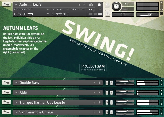 ProjectSAM Swing Multi