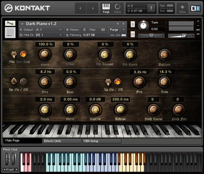 Replika Sound Dark Piano