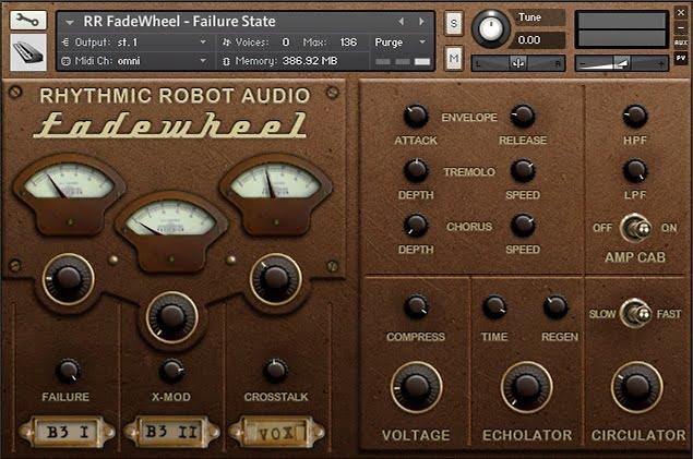 Rhythmic Robot FadeWheel