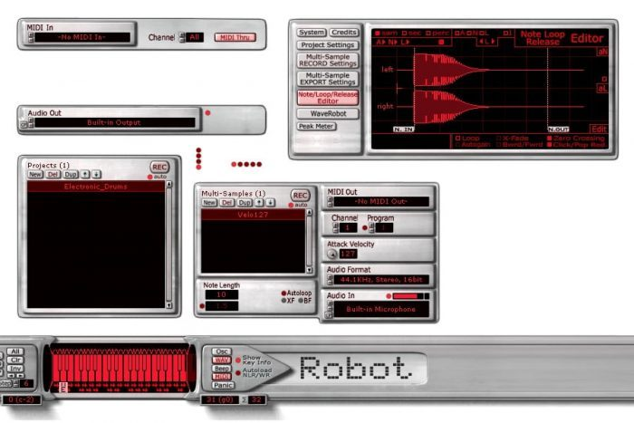 Skylife SampleRobot Volca-X