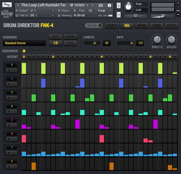 The Loop Loft Drum Direktor FNK-4 Sequencer