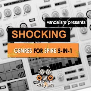 Vandalism Shocking Genres for Spire 5-in-1