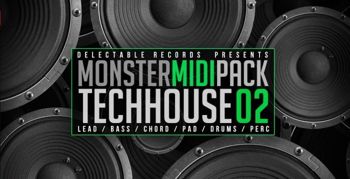 Delectable Records Monster MIDI Pack Tech House 02