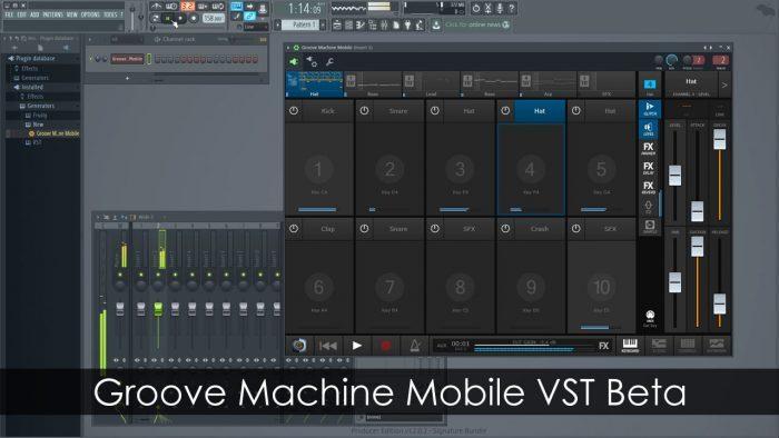 Image-Line Groove Machine Mobile VST
