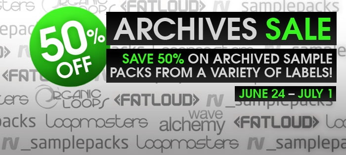 Loopmasters Sound Archives Sale
