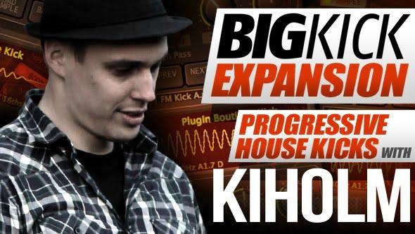 Plugin Boutique BigKick Progressive House Kick with Kiholm