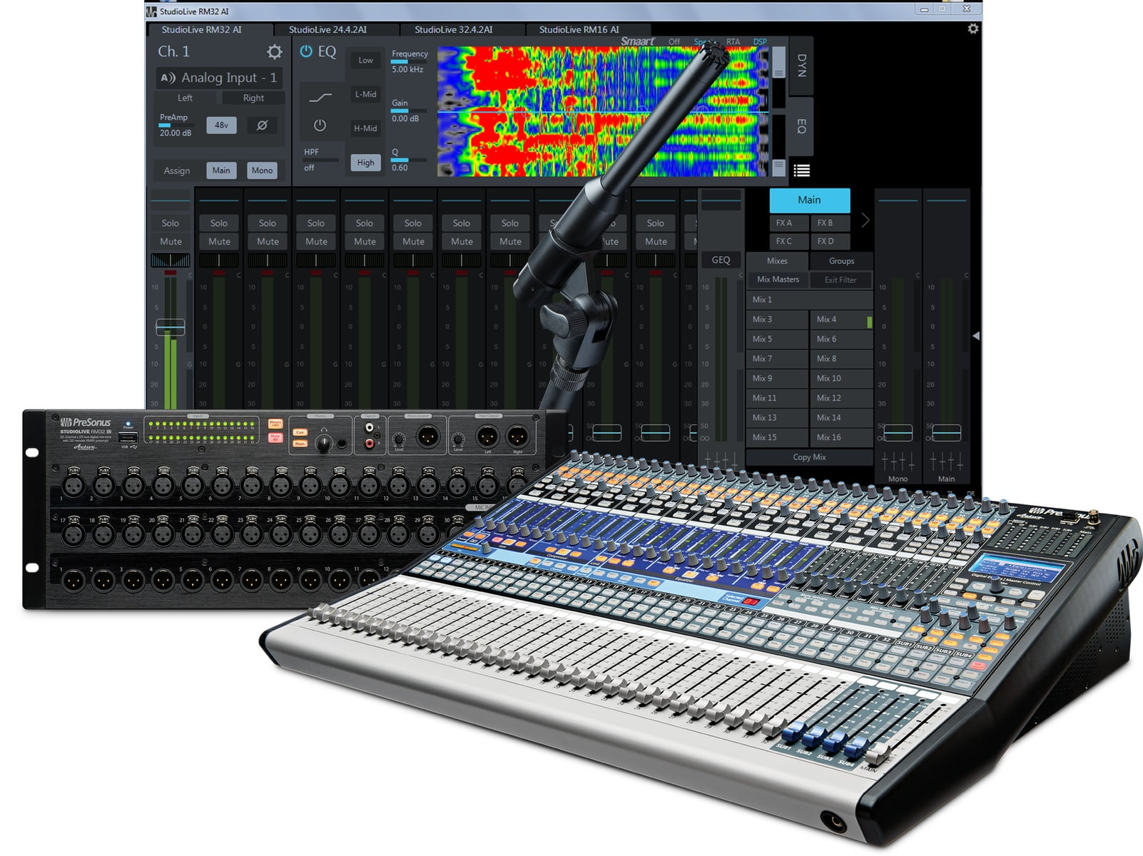uc surface mixer control by presonus updated to v1 3. Black Bedroom Furniture Sets. Home Design Ideas