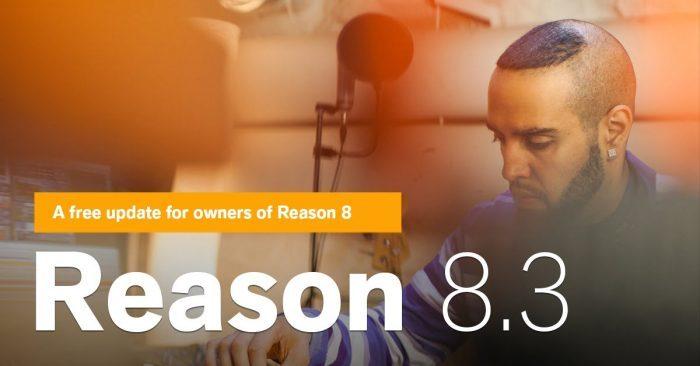 Propellerhead Reason 8.3 update