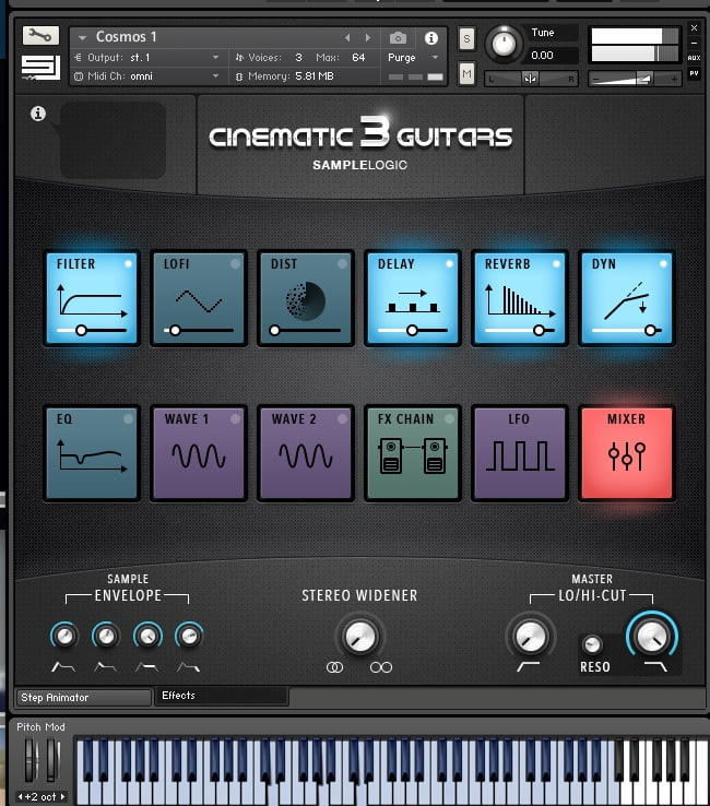 Sample Logic Cinemtic Guitars 3