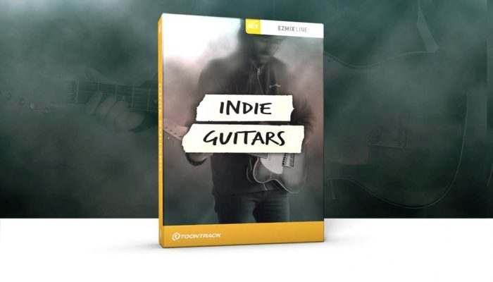 Toontrack Indie Guitars EZmix Pack feat