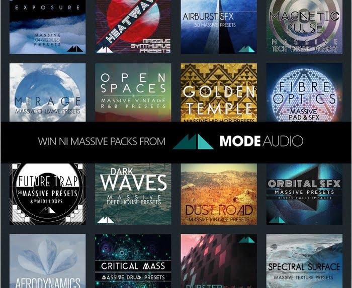 ModeAudio Massive packs
