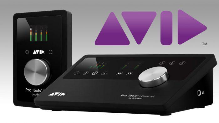Avid Pro Tools Duet Quartet