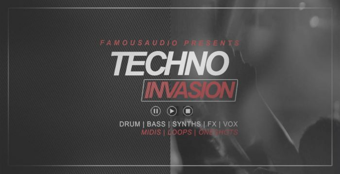 Famous Audio Techno Invasion