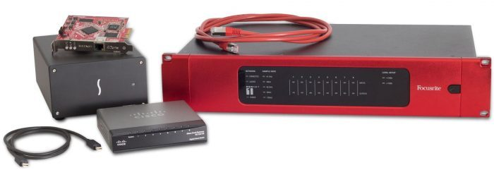 Focusrite RedNet1 Bundle
