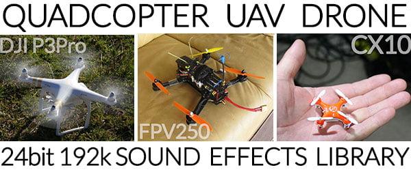 HISS and a ROAR Quadcopter UAV Drone