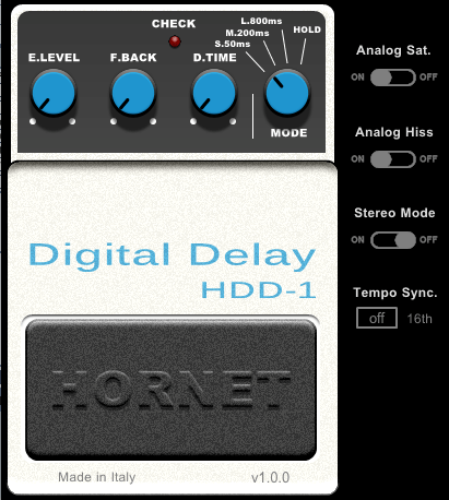 HoRNet HDD-1