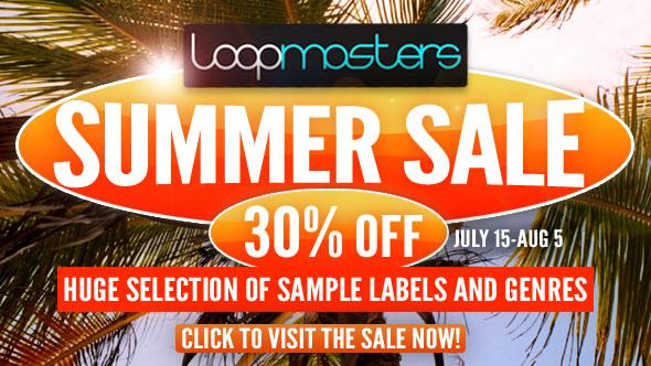 Loopmasters Summer Sale 2015